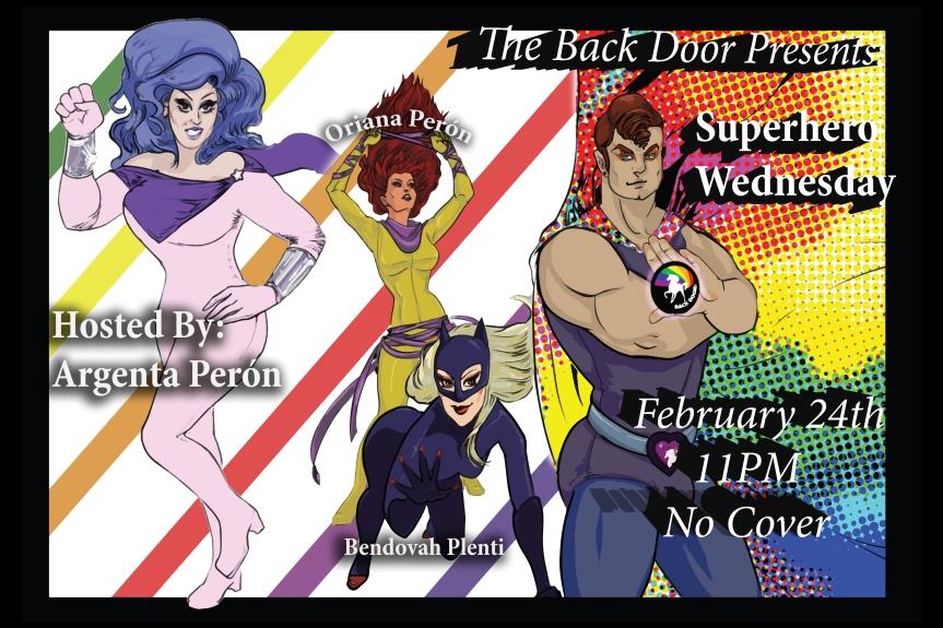 Superhero Wednesday Show!